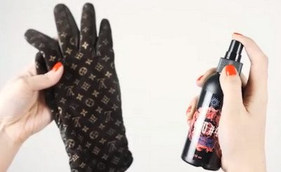 Простой способ почистить перчатки новым спреем Гринвей