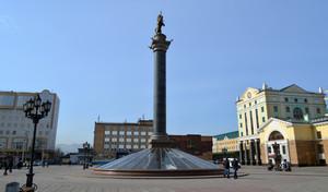 Привокзальная площадь Красноярск