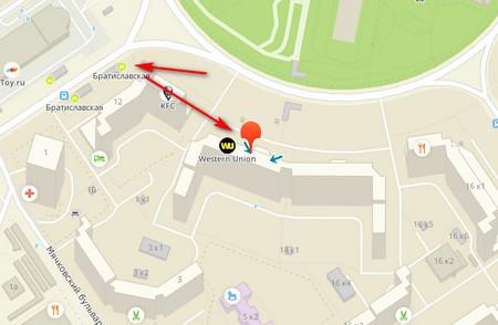 Как добраться до РЦ 29 Гринвей с метро
