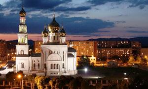 Православный храм, г. Абакан.