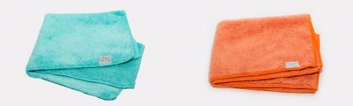 Бирюзовая и оранжевая салфетки Гринвей